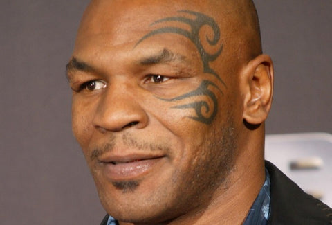 Mike Tyson and Anthony Pepe