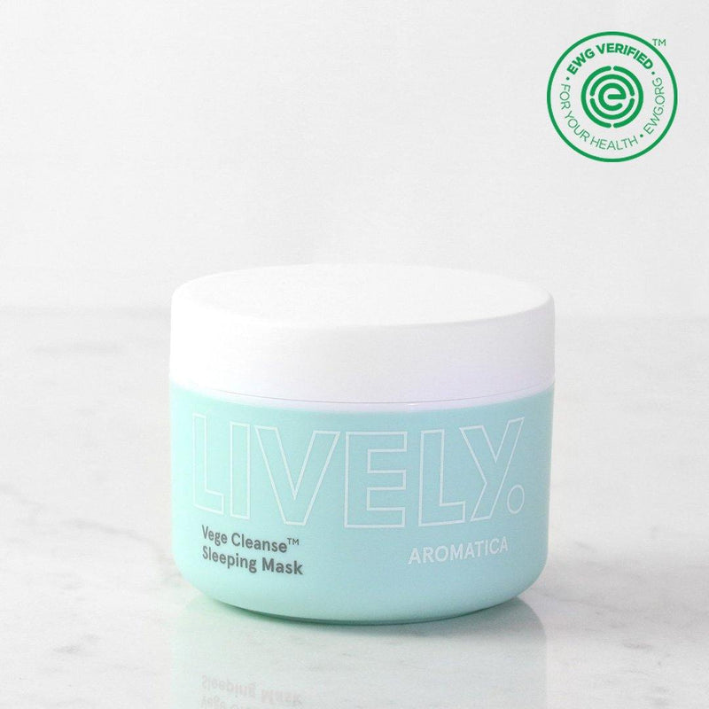 LIVELY Vege Cleanse Sleeping Mask