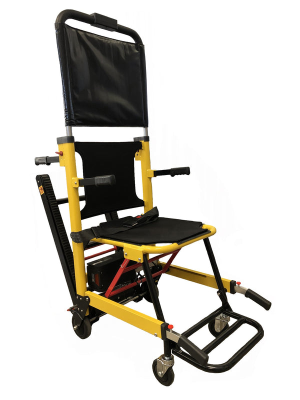 LINE2design Battery Powered Track Stair Chair -Yellow
