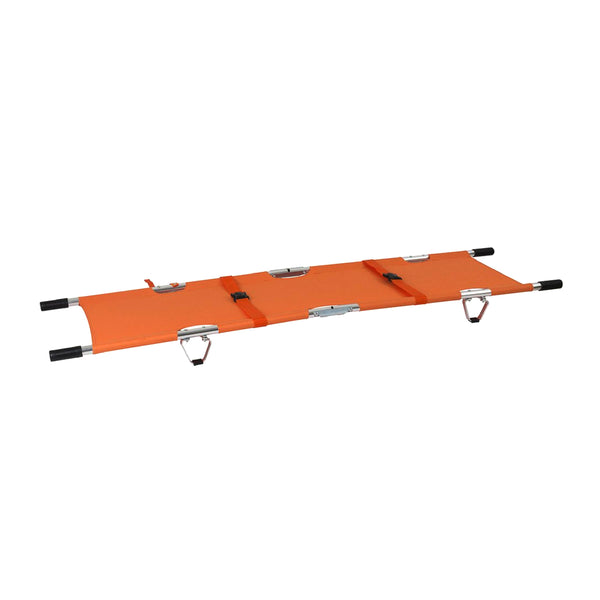 Emergency Medical Evacuation Foldaway Stretcher with Handles & Carrying Case