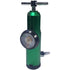 Aluminum Oxygen Regulator 0-15L, Green