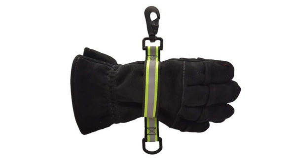 GloveLeash Reflective, Green