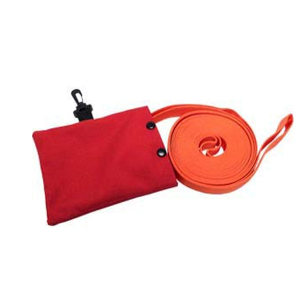 Webbing Pack Cordura Pouch with 24-ft Orange Webbing