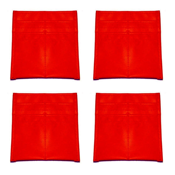 Tool Pouch - 4 Pack - Red