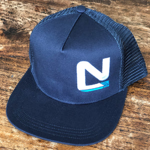 Black Trucker - N Symbol Left