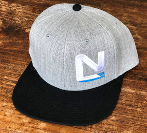 Grey Frack with Black Brim - N Symbol Left