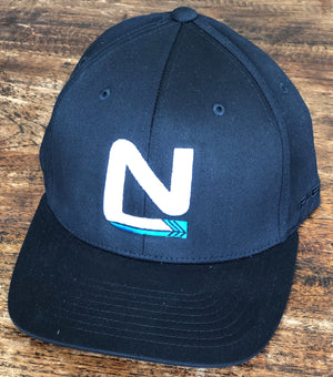 Black Cap Flex Fit - N Symbol Middle