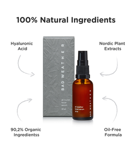 all round facial serum