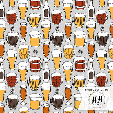 Beer Glass Fabric