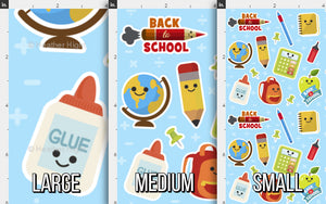 Back to School Fabric