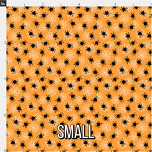 Load image into Gallery viewer, Halloween Spider Fabric - Orange