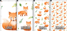 Load image into Gallery viewer, Watercolor Fox Fabric