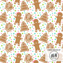 Load image into Gallery viewer, Gingerbread Girl Fabric
