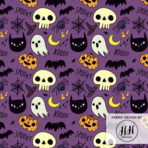 Spooky Cute Halloween Fabric