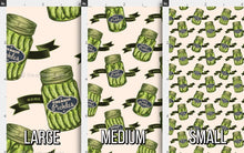 Load image into Gallery viewer, Vintage Pickle Jar Fabric