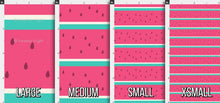 Load image into Gallery viewer, Watermelon Stripes Fabric