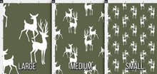 Load image into Gallery viewer, Buck and Doe Fabric - Army Forest Green
