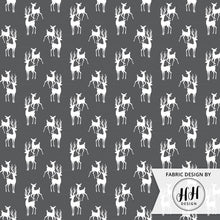 Load image into Gallery viewer, Buck and Doe Fabric - Iron Gray
