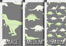 Load image into Gallery viewer, Dinosaur Silhouette Fabric