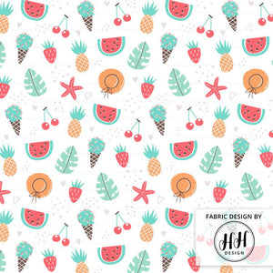 Fruit Summer Fabric