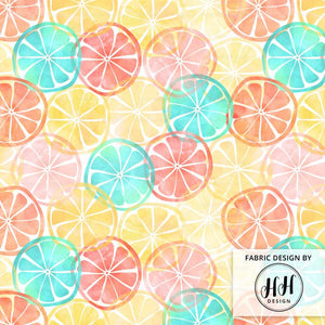 Summertime Citrus Fabric