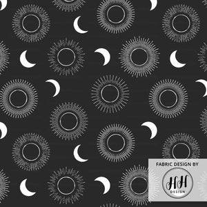 Solar Eclipse Fabric