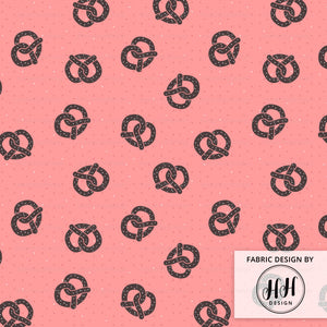 Toasty Pretzels Fabric