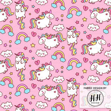 Load image into Gallery viewer, Unicorn Fabric
