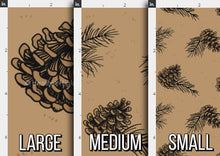 Load image into Gallery viewer, Pine Cone Fabric