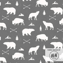 Load image into Gallery viewer, Woodland Animals Fabric