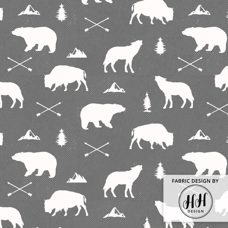 Woodland Animals Fabric