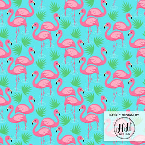 Flamingo Paradise Fabric