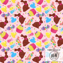 Load image into Gallery viewer, Easter Treats Fabric