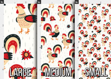 Load image into Gallery viewer, Spring Rooster Fabric