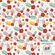 Load image into Gallery viewer, Woodland Floral Fabric