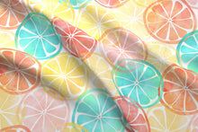 Load image into Gallery viewer, Summertime Citrus Fabric
