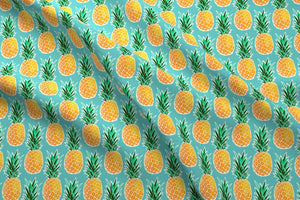 Tropical Pineapple Fabric