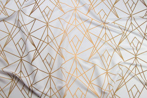 Gold Fragments Fabric