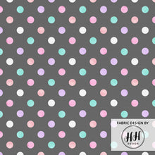 Load image into Gallery viewer, Watercolor Polka Dots Fabric