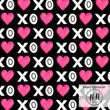 Load image into Gallery viewer, XOXO Heart Fabric