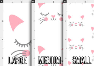 Kitty Face Fabric