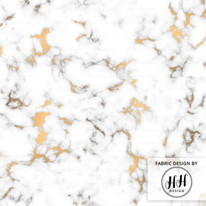 Gold Vein Marble Fabric