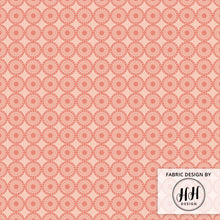 Load image into Gallery viewer, Dusty Rose Fabric - Geometric
