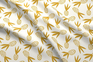 Pineapple Doodle Fabric