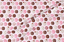 Load image into Gallery viewer, Valentine Donut Fabric