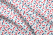 Load image into Gallery viewer, USA Donut Sprinkles Fabric