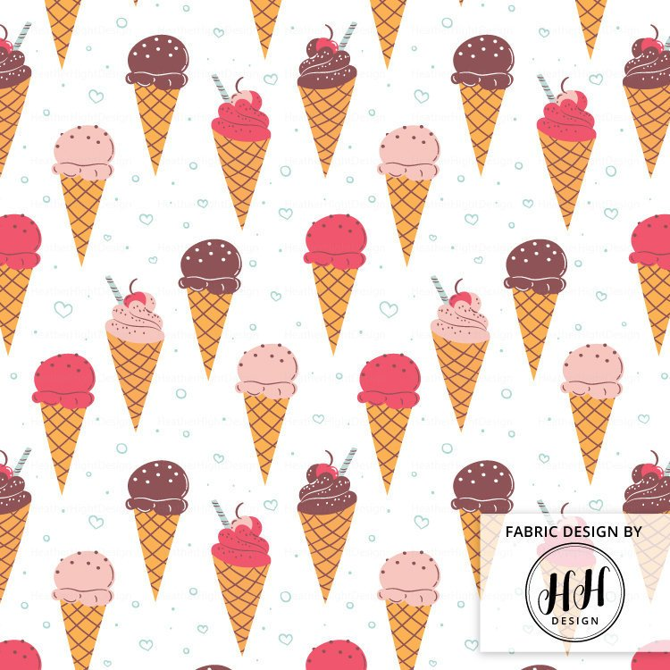 Ice Cream Fabric