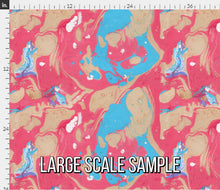 Load image into Gallery viewer, Colorful Marble Fabric