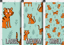 Load image into Gallery viewer, Safari Tiger Fabric