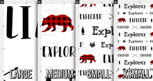 Load image into Gallery viewer, Woodland Personalized Fabric / Custom Name Fabric